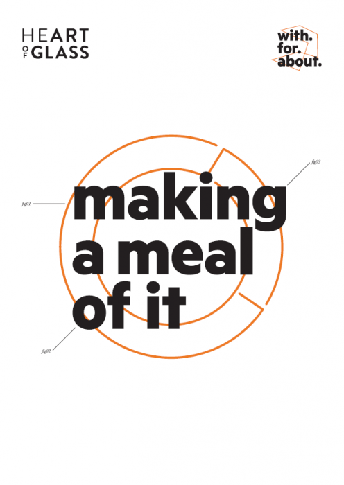 With For About: Making a Meal of It